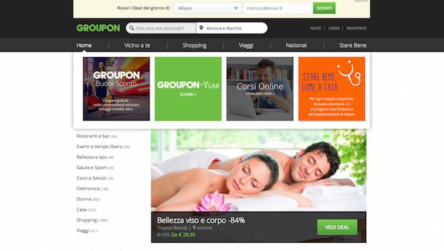 Come comprare su groupon the shopping corner for Groupon shopping arredamento