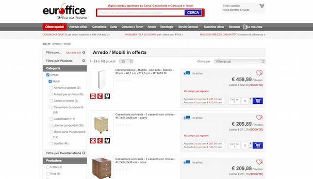 Arredo per ufficio come acquistarlo online the shopping for Arredo ufficio online