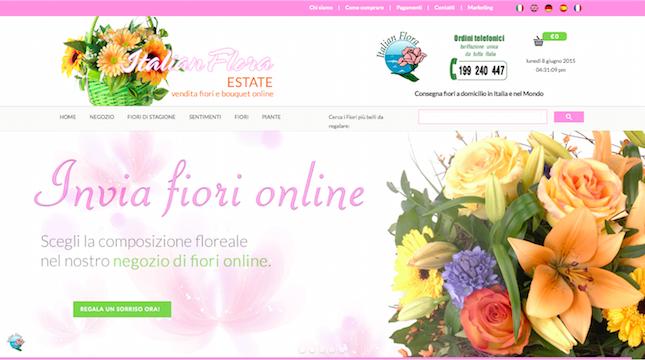 Spedizione Fiori Online.Come Spedire Fiori Online In Tutta Italia The Shopping Corner