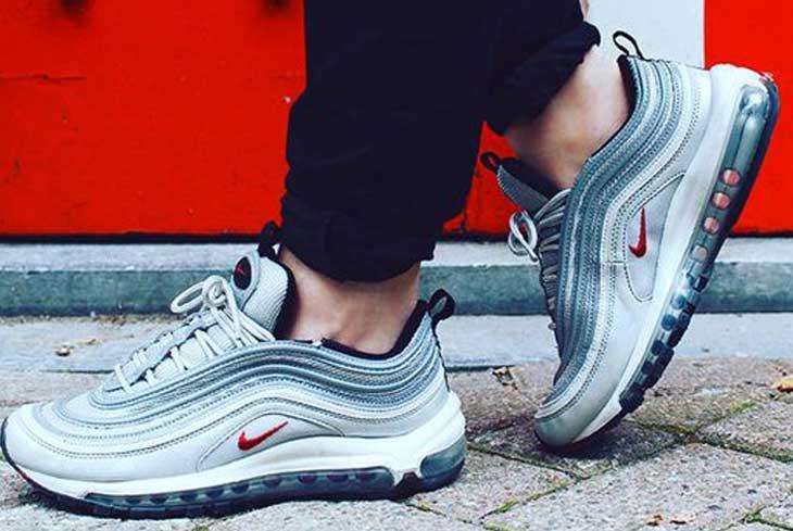 scarpe nike silver