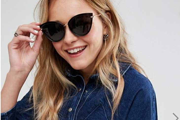 035643e35f Sconti sugli occhiali da sole cat-eye da donna - the Shopping Corner